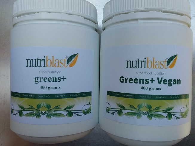 NutriBlast Greens+ Both