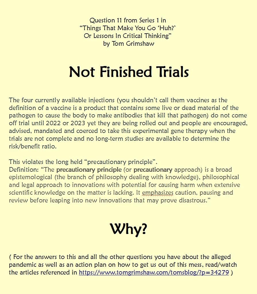 S1 Q11 Critical Thinking