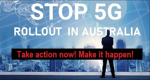 Stop 5G Rollout In Australia